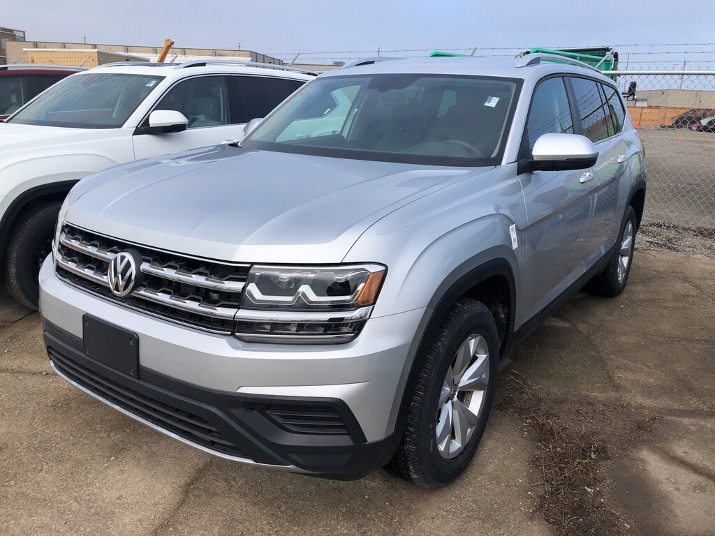 Pre-Owned 2018 Volkswagen Atlas Trendline 3.6L 8sp at w/Tip 4motion