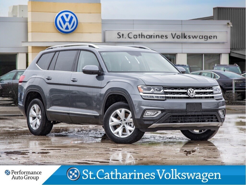 Certified Pre-Owned 2018 Volkswagen Atlas HIGHLINE AWD NAV LEATHER PANO SUNROOF