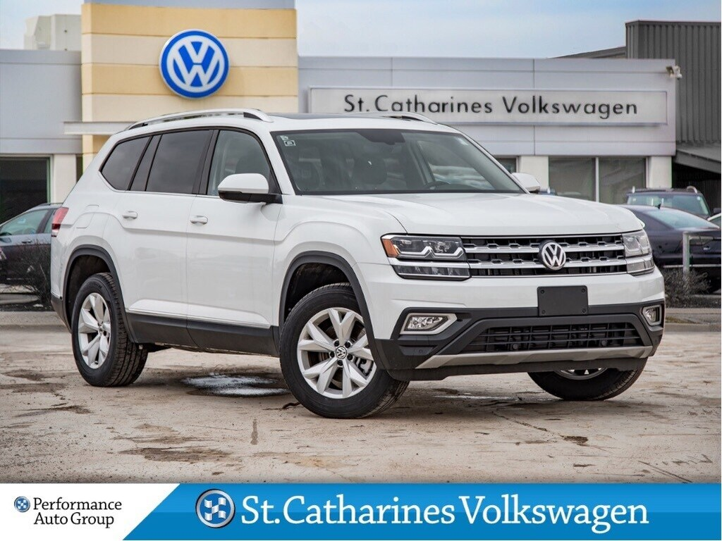 Certified Pre-Owned 2018 Volkswagen Atlas HIGHLINE CPO AWD V6 NAV SUNROOF