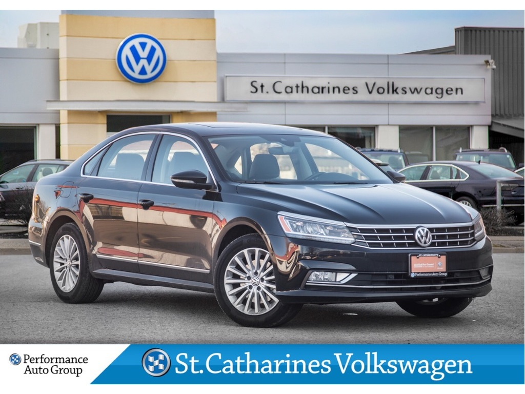 Pre-Owned 2017 Volkswagen Passat 1.8T COMFORTLINE DRIVERS ASSIST SUNROOF CPO