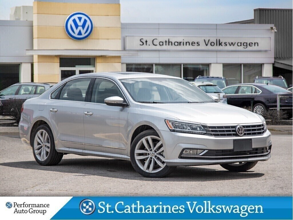 Certified Pre-Owned 2018 Volkswagen Passat HIGHLINE NAV LEATHER SUNROOF CPO