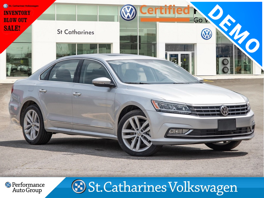 Certified Pre-Owned 2018 Volkswagen Passat HIGHLINE * PERFORMANCE GRP EXECUTIVE DEMO * NAV *