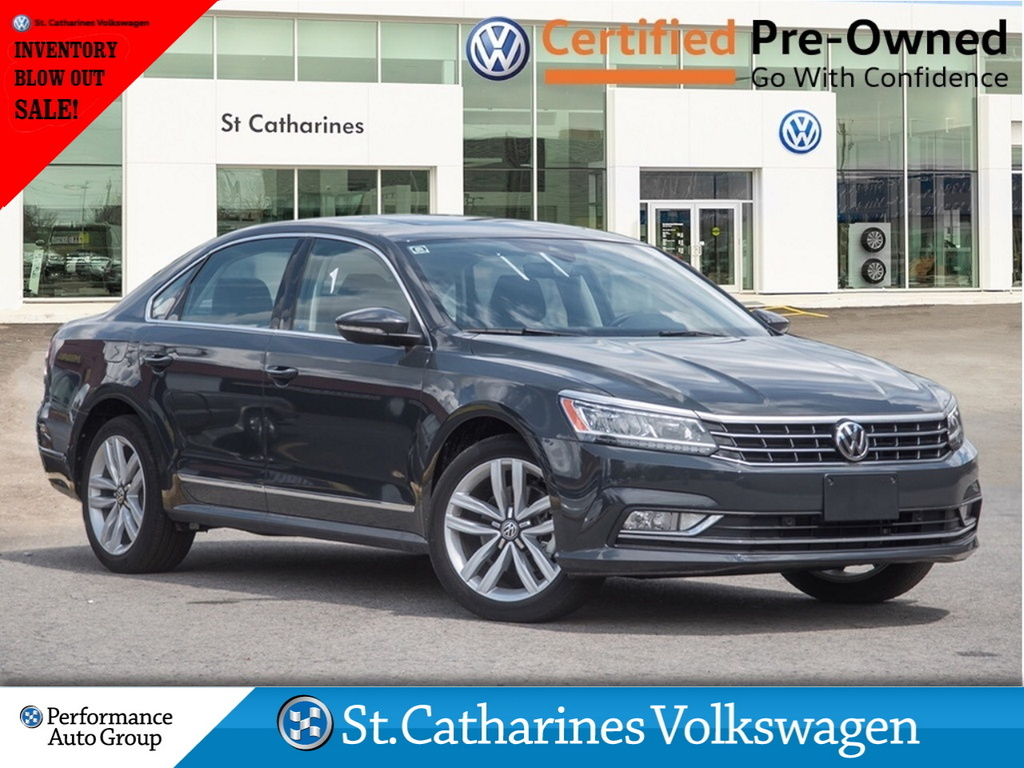 Certified Pre-Owned 2017 Volkswagen Passat INVENTORY BLOWOUT SALE DRIVERS ASSIST PKG NAV