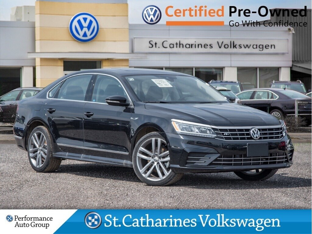 Certified Pre-Owned 2018 Volkswagen Passat HIGHLINE R LINE NAV LEATHER CPO