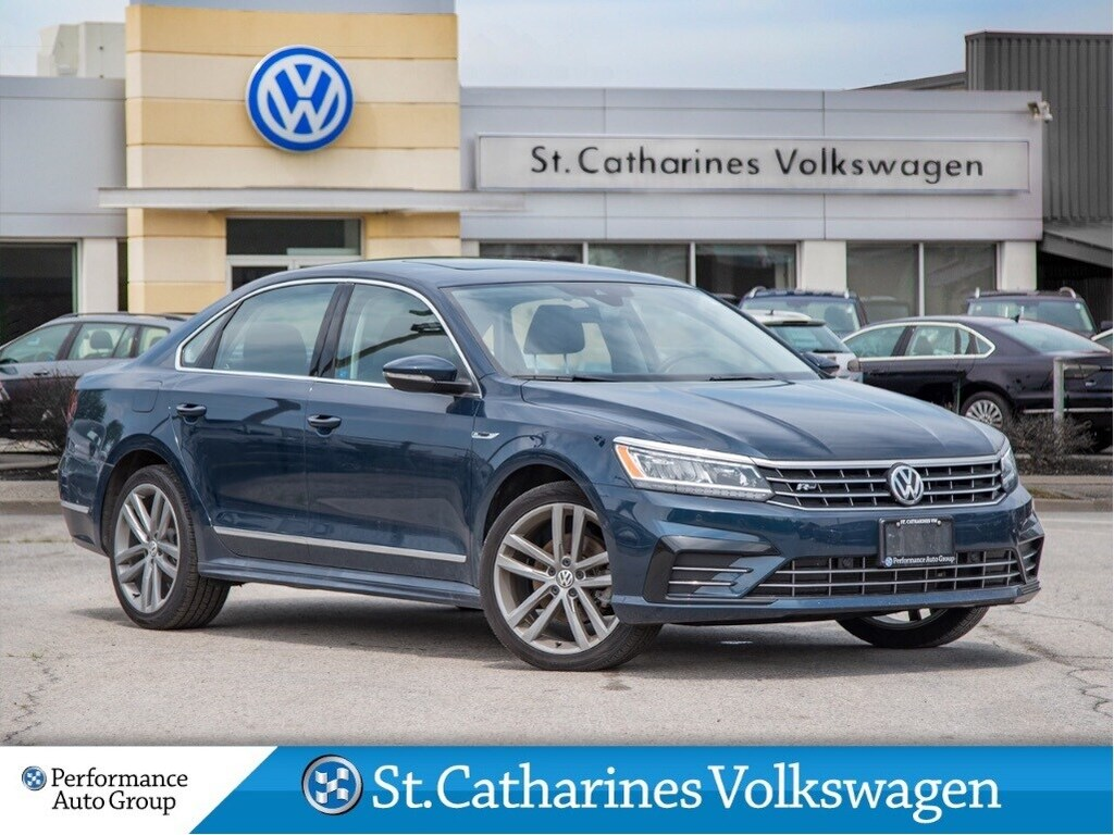 Pre-Owned 2018 Volkswagen Passat HIGHLINE R-LINE SUNROOF DRIVERS ASSIST