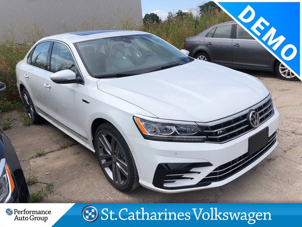 Pre-Owned 2019 Volkswagen Passat WOLFSBURG EDITION 2.0T 6SP AT W/TIP