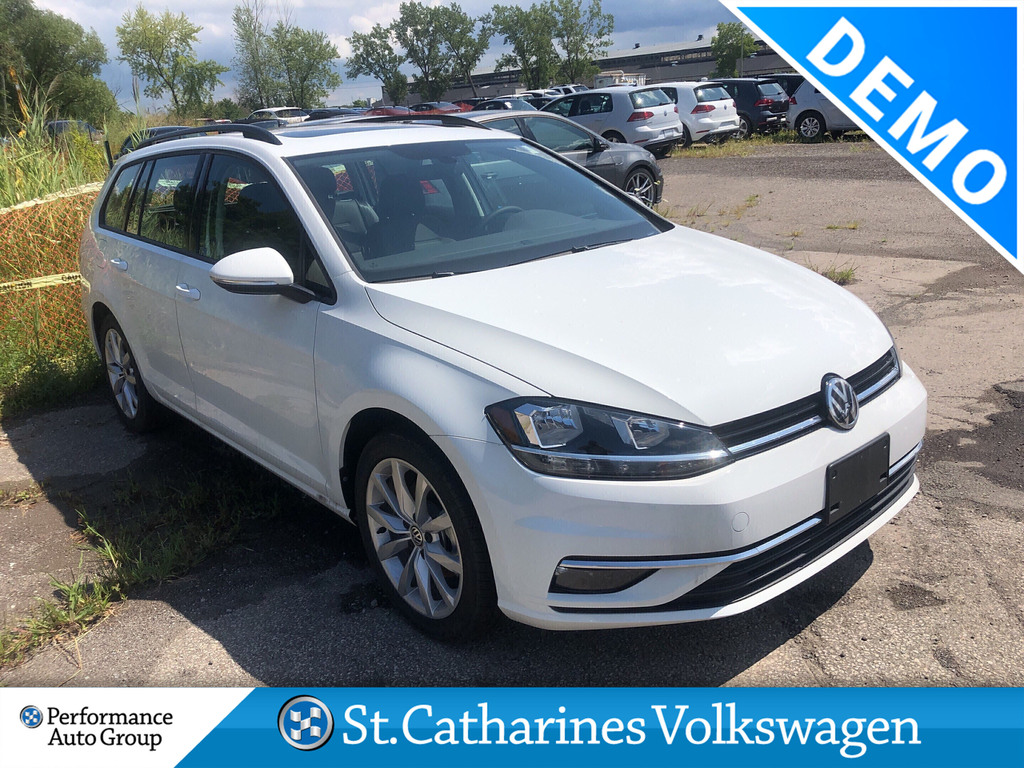 Pre-Owned 2019 Volkswagen Golf SportWagen 1.8T HIGHLINE DSG 6SP AT W/TIP 4MOTION