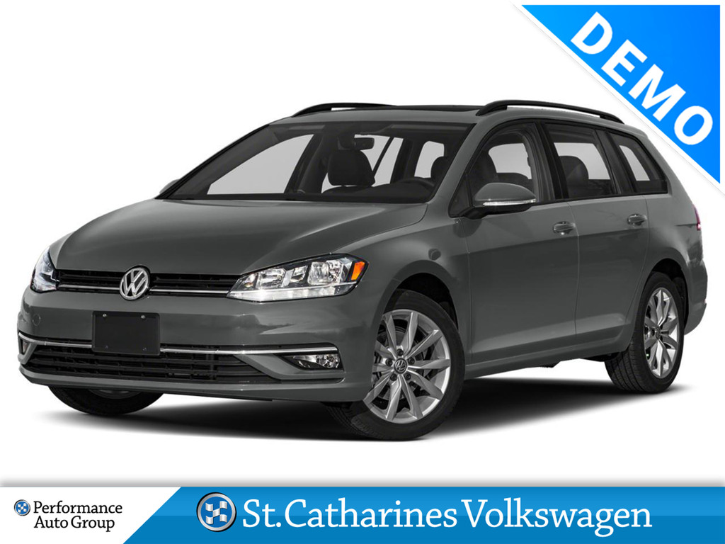 Pre-Owned 2019 Volkswagen Golf SportWagen 1.8T CMFRTLINE DSG 6SP AT W/TIP 4MOTION