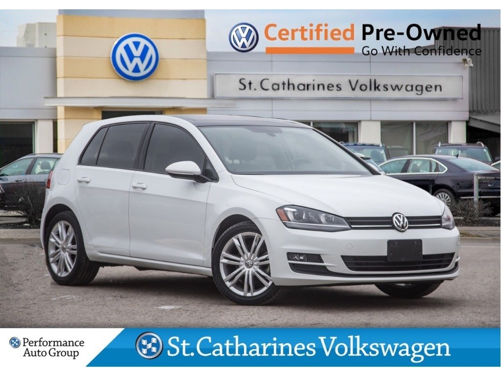 Pre-Owned 2015 Volkswagen Golf CERTIFIED PRE-OWNED TDI NAV FENDER AUDIO