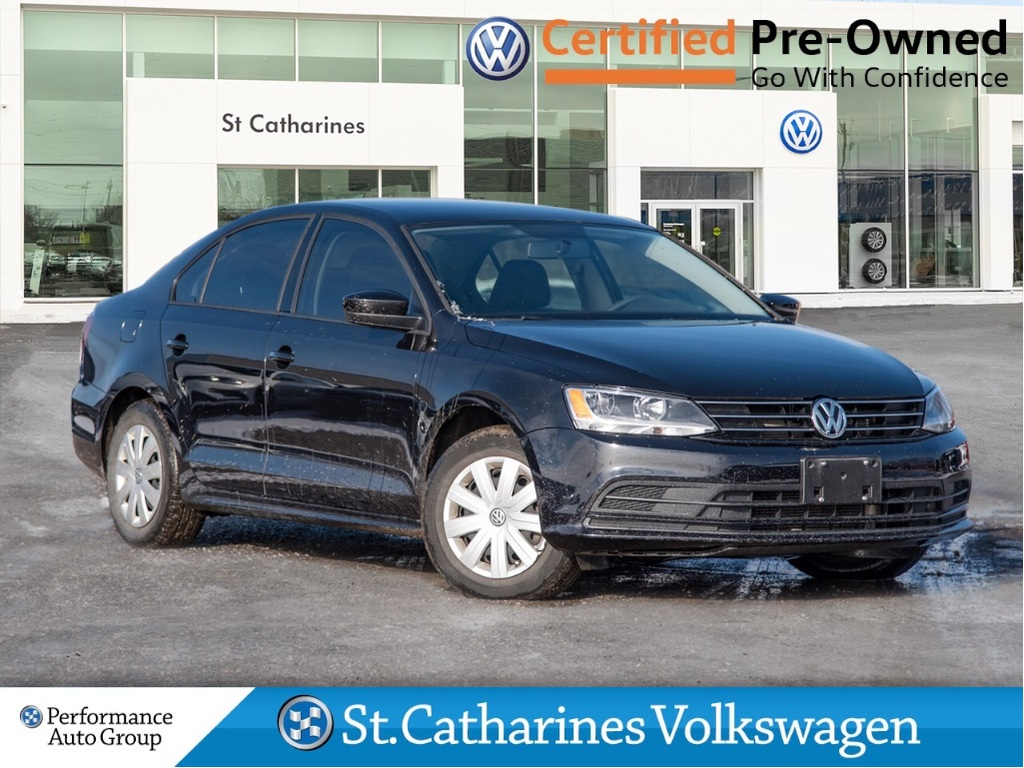 Pre-Owned 2017 Volkswagen Jetta Sedan TRENDLINE+ CPO HEATED SEATS APP CONNECT