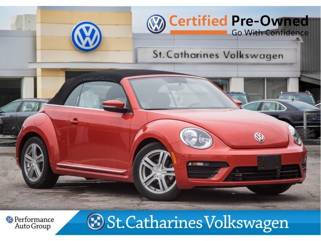 Certified Pre-Owned 2018 Volkswagen Beetle CERTIFIED PRE-OWNED CONVERTIBLE HEATED SEATS