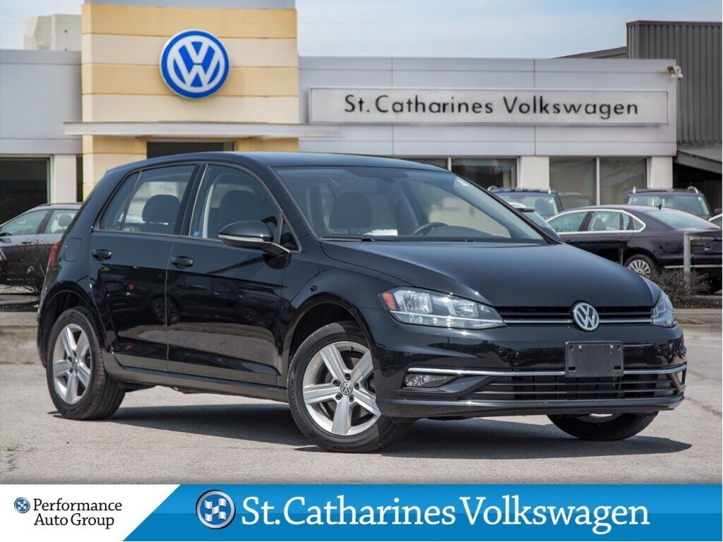 Pre-Owned 2019 Volkswagen Golf HIGHLINE DRIVERS ASSIST SUNROOF