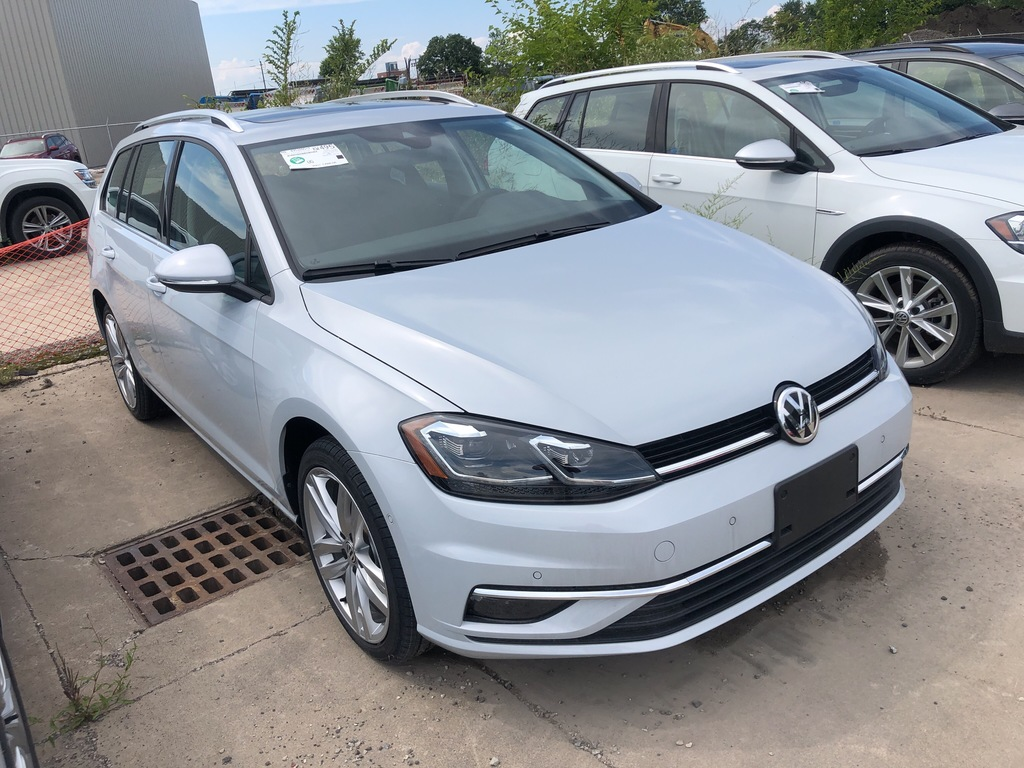New 2019 Volkswagen Golf SportWagen Sportwagen 1.8T Execline DSG 6sp at w/Tip 4motion