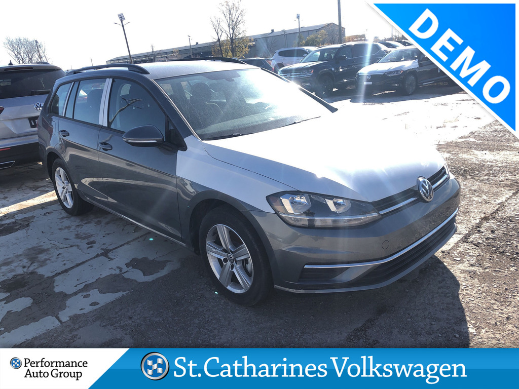 Pre-Owned 2019 Volkswagen Golf SportWagen 1.4T COMFORTLINE 8SP AT W/TIP