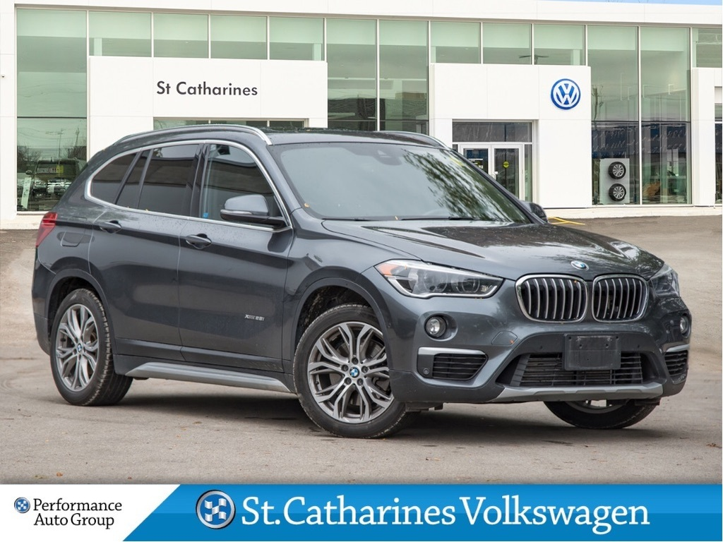Pre-Owned 2016 BMW X1 AWD NAV LEATHER SUNROOF CAMERA