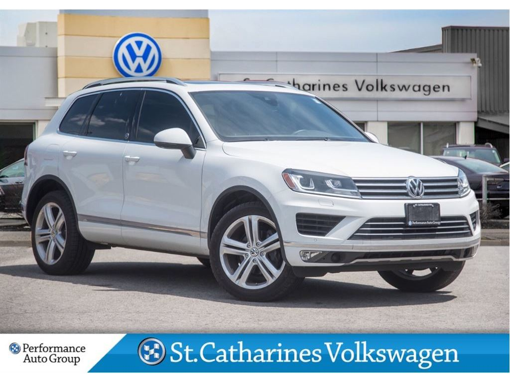 Pre Owned 2017 Volkswagen Touareg Sold Pending Delivery