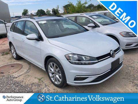 Certified Pre-Owned 2019 Volkswagen Golf SportWagen